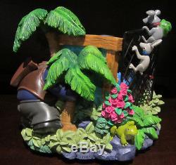 RARE Disney Lilo and Stitch Alien 626 Aloha Animal Rescue Shelter Snowglobe
