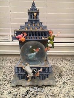 RARE Disney Peter Pan Snowglobe RARE