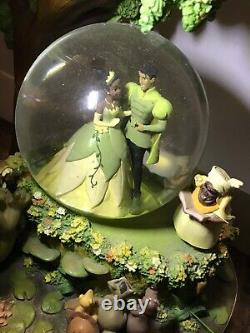 RARE Disney Princess and the Frog Snow Globe, No Box, Working