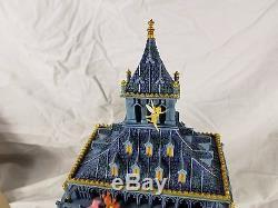 RARE Disney Snowglobe Peter Pan Big Ben Clock Tower Tinker Wendy You Can Fly
