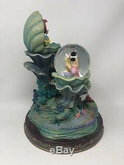 RARE Disney The Little Mermaid Snow Globe SEE DESCRIPTION