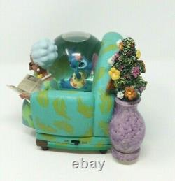 RARE Disney's Lilo & Stitch You Are So Beautiful Snow Globe Tested and Working