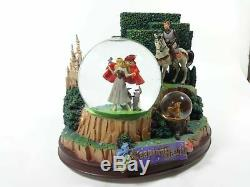 RARE Sleeping Beauty Disney Exclusive Snowglobe, Music Box (Once upon a Dream)