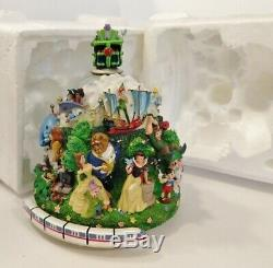 RARE! Vintage! Disney 4 Parks Snowglobe With Monorail