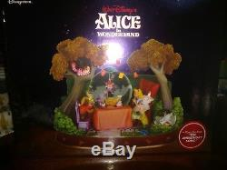 RARE disney Alice In Wonderland Snow Globe