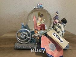 Rare Cinderella 50th Anniversary Disney Musical Snow globe