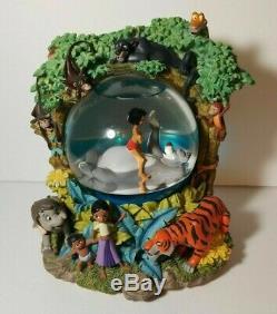 Rare DISNEY The Jungle Book 2 Snow Globe The Bear Necessities NEW