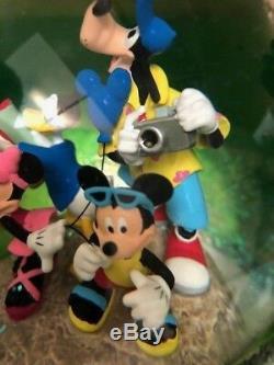Rare Disney All Star Monorail Snow Globe