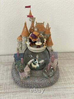 Rare Disney Beauty & The Beast Snow Globe