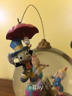 Rare Disney Pinocchio Snow Globe