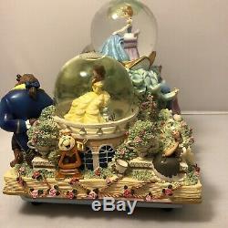 Rare Disney Share a Dream Come True Snow Globe Parade Music & Lights Read Desc