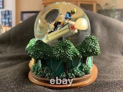 Rare Disney Space Mountain Snow globe Used