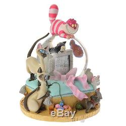 Rare Disney Store Aristo Cats Marie Kiss me Cat Music Box Snow Globe Dome Figure