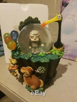 Rare Genuine Pixar's UP Authentic Disney Store Snowglobe SG111