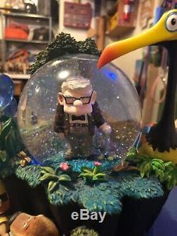Rare Mint Condition Disneys Up Light Up Snow Globe