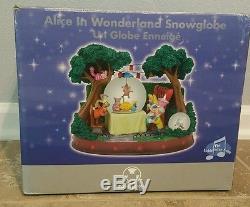 Rare! NEW in Box Alice in Wonderland Snowglobe. HTF- Mint cond