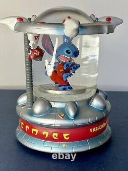 SUPER RARE Disney Lilo & Stitch (Experiment 626) Containment Cell Snow globe
