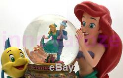 Snow Globe Disney The Little Mermaid Ariel & Musical Theater Under the Sea