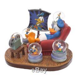 Snow Globe Donald Duck Birthday 2018 Disney Store Japan