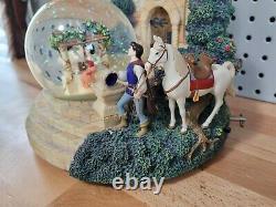 Snow White and the Seven Dwarfs 70th Anniversary Im Wishing Snow Globe RARE