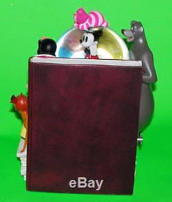 THROUGH THE YEARS Vol. 1 Disney Classics Snow Globe Musical Bookend 2008