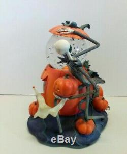 The Disney Store The Nightmare Before Christmas Snow Globe with Box 10 1/2 Tall