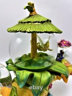 Tinker Bells Fairy Friends Musical With Movement Multi Snow Globe You Can Fly