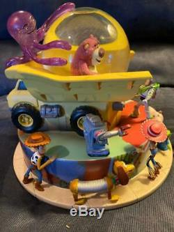 Toy Story 3 Snow Globe Disney Store Extremely Rare Very Hard To Find