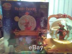 VHTF RARE Disney Store ROBIN HOOD Carriage Prince John Snow Globe