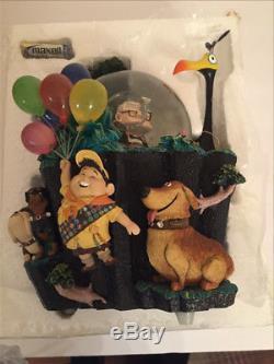 VHTF RARE Genuine Walt Disney Store Exclusive Pixar UP Snowglobe SG111