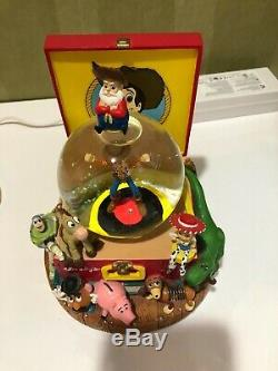 Very Rare Disney Toy Story You've Got A Friend In Me Snow Globe 1996 Woody