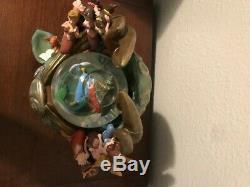 Vintage Disney Little Mermaid Daughters Of Triton Snow Globe (Rare)