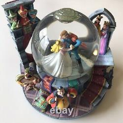 Vintage Disney Sleeping Beauty Once Upon the Dream Musical Snow Globe Lights