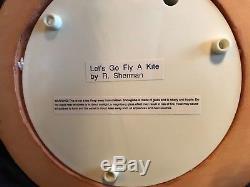 Walt Disney RARE Mary Poppins Musical Snow Globe Let's Go Fly A Kite