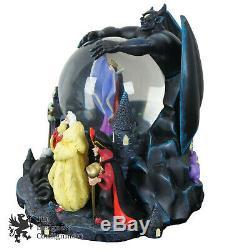 Walt Disney Villains Musical Snowglobe Retired 2003 Grim Grinning Ghosts Ursula