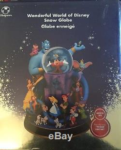Wonderful World Of Disney Snow Globe