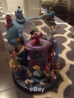 Wonderful World of Disney snowglobe with box